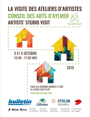 Gatineau Artists' Studio visit 2019